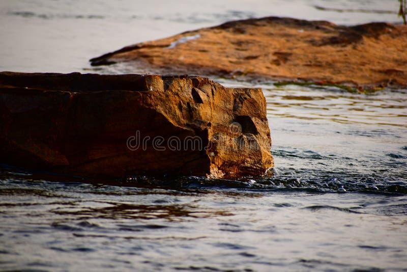 El mejor papel pintado del río foto de archivo libre de regalías