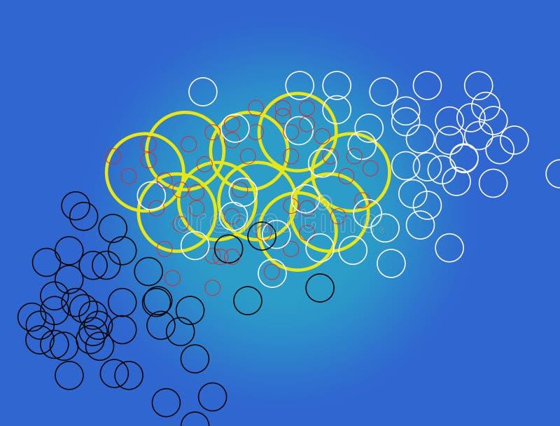 El mejor papel pintado impresionante circular libre illustration