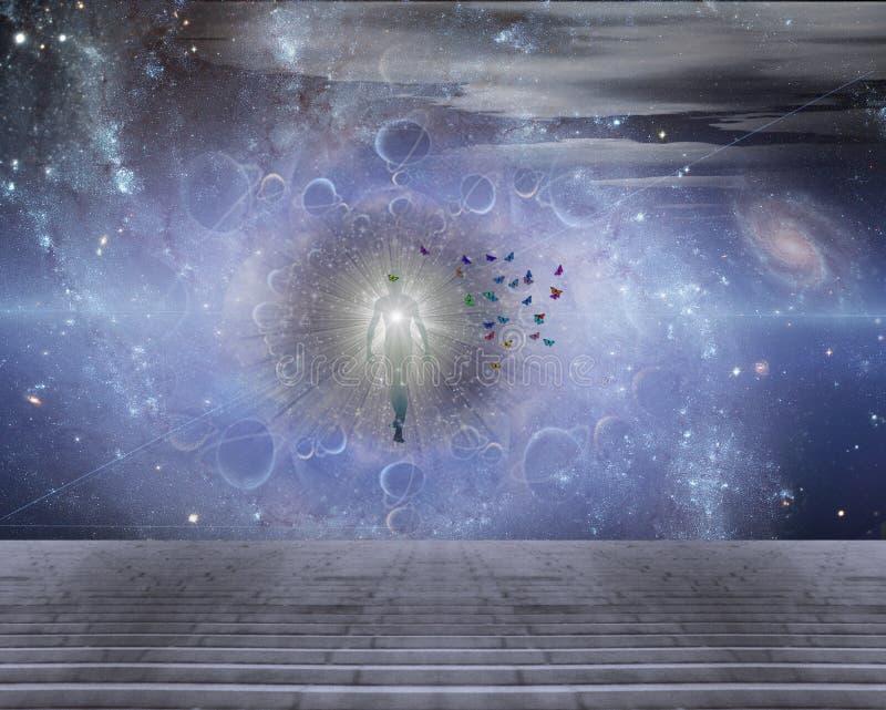 El mensajero de la luz libre illustration