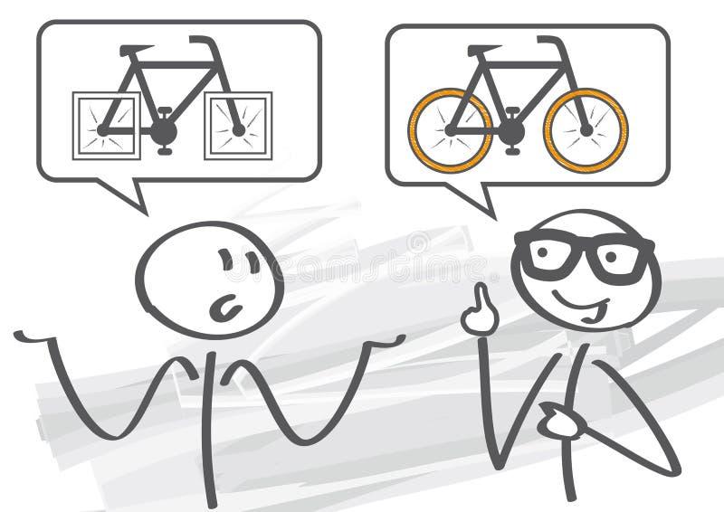 El mentor soluciona problema libre illustration