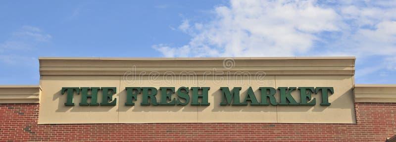 El mercado fresco imagenes de archivo