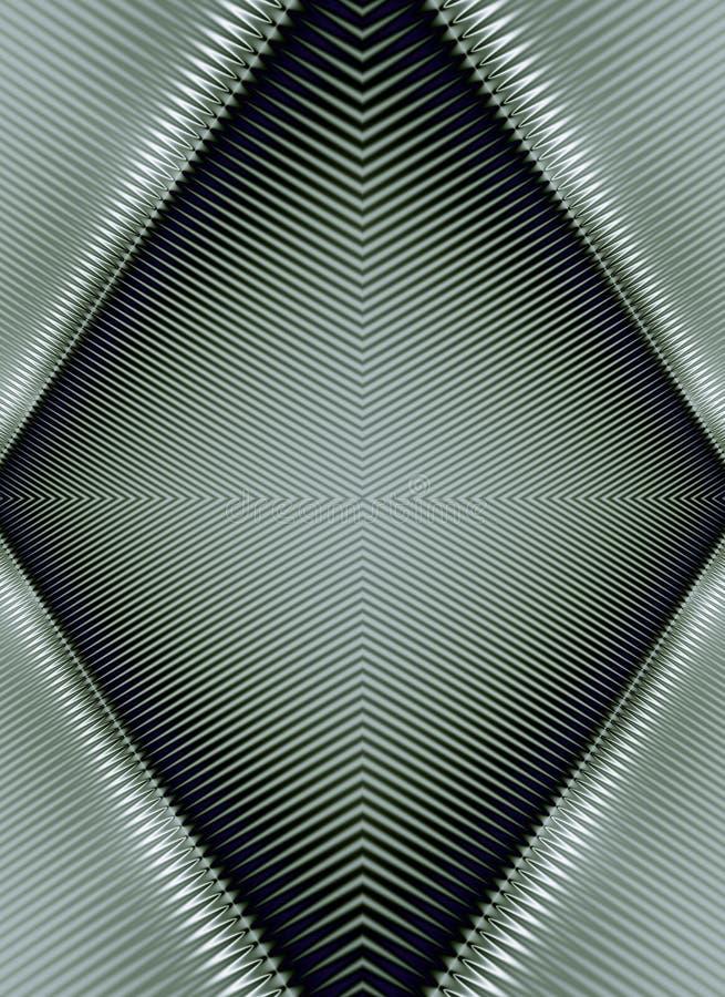El metal brillante Textures modelos ilustración del vector