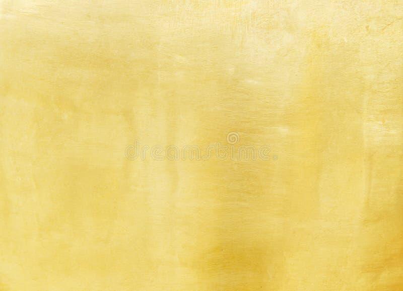 El metal de cobre amarillo viejo en modelos del grunge texturiza abstracto para el fondo fotografía de archivo