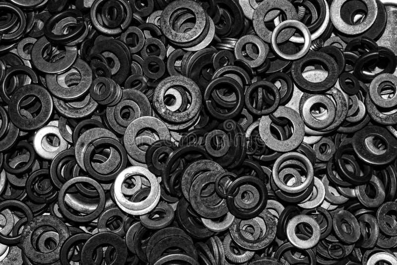 El metal rellena el fondo fotos de archivo