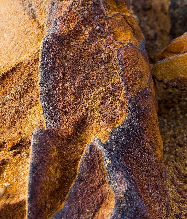 El mineral es limonita fotografía de archivo libre de regalías