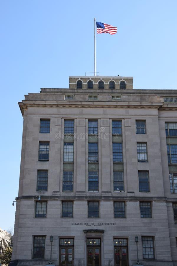 El Ministerio de Agricultura de Estados Unidos (USDA) en Washington DC imagen de archivo libre de regalías