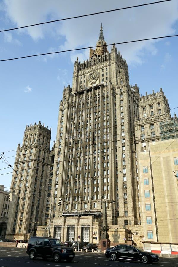El Ministerio de Asuntos Exteriores foto de archivo