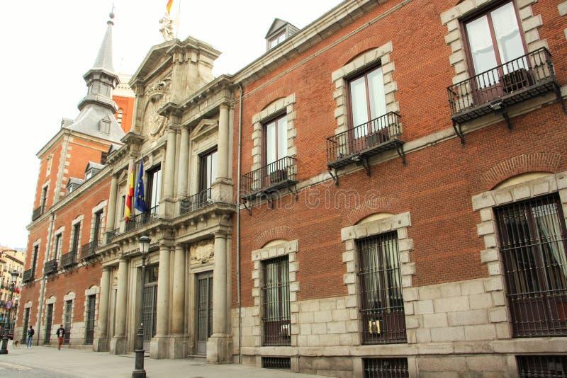El Ministerio de Asuntos Exteriores de España foto de archivo