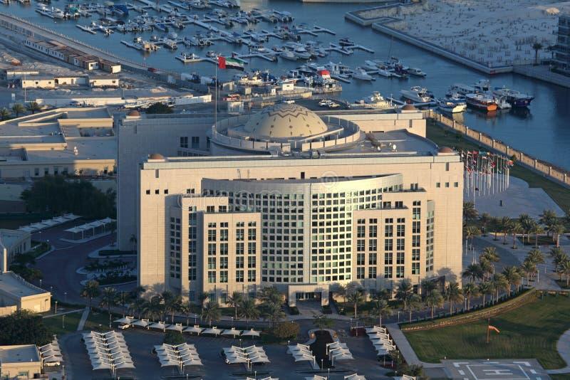 El Ministerio de Asuntos Exteriores en Abu Dhabi fotografía de archivo libre de regalías