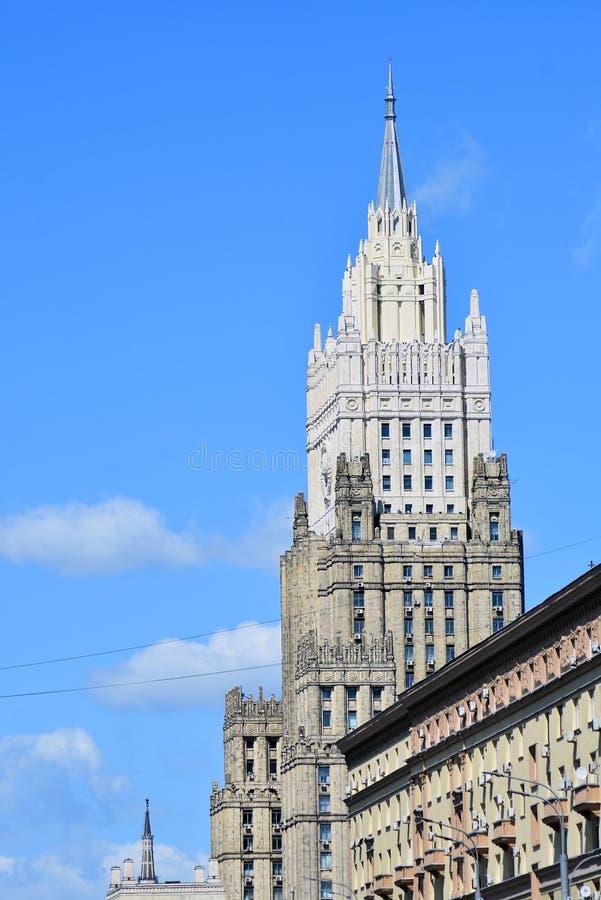 El Ministerio de Asuntos Exteriores de Rusia fotos de archivo