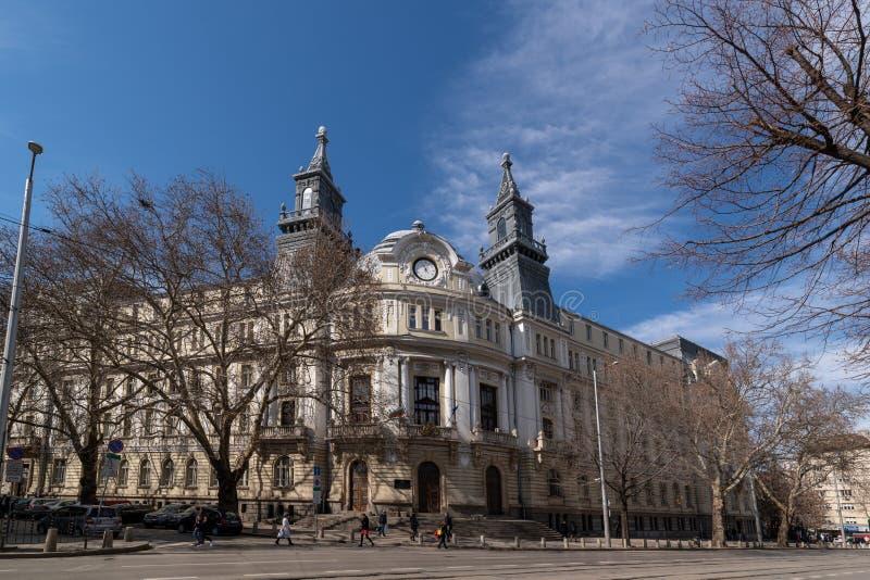 El ministerio de la agricultura y de la silvicultura en Sofía, Bulgaria imagenes de archivo