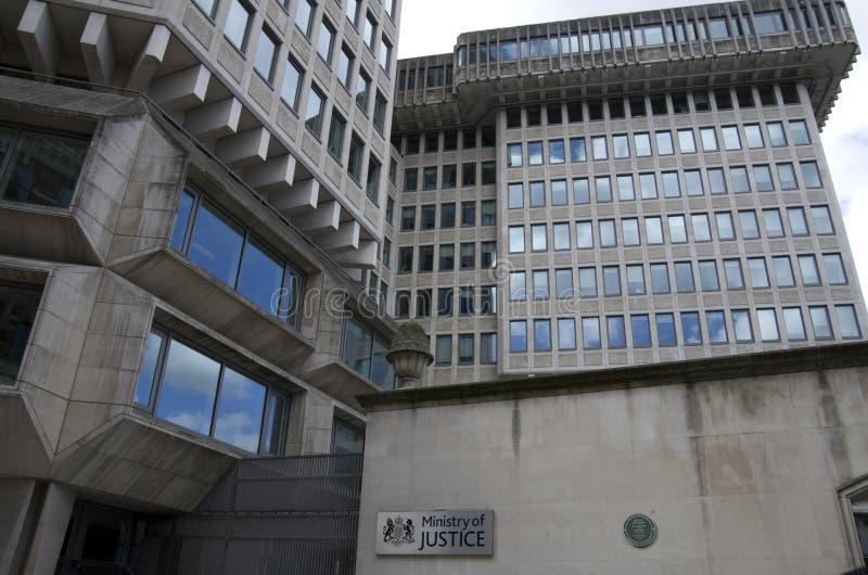 El ministerio de la justicia de Londres foto de archivo