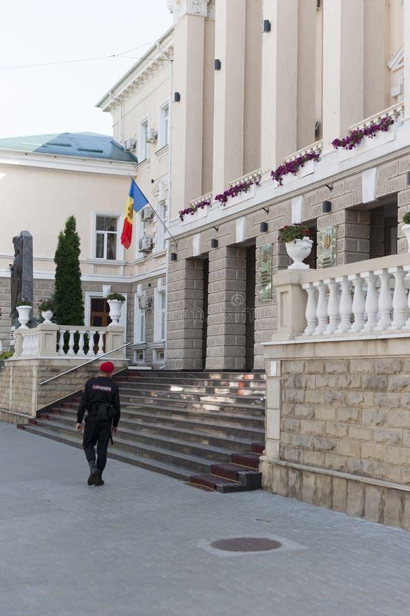 El ministerio de los asuntos internos el Moldavia fotografía de archivo libre de regalías