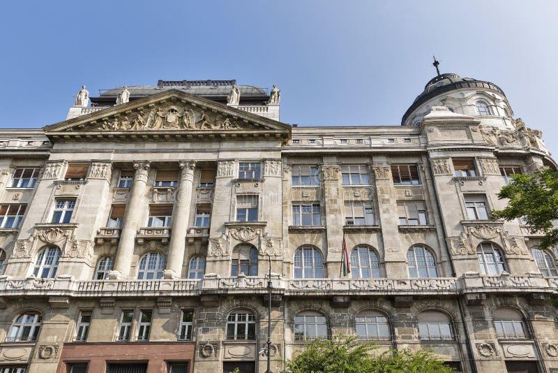 El ministerio de los asuntos internos que construyen en Budapest, Hungría fotos de archivo libres de regalías