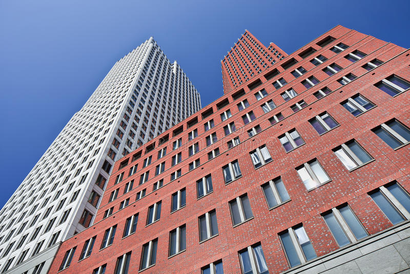 El ministerio de los edificios de la seguridad y de la justicia, La Haya, Países Bajos foto de archivo libre de regalías