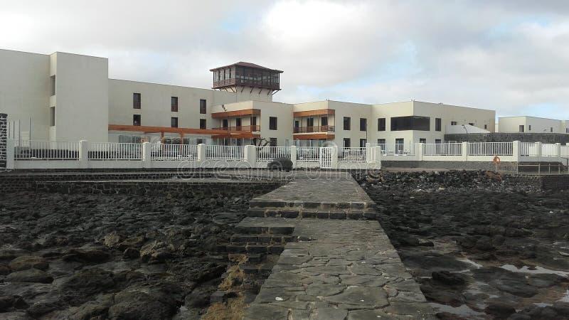 EL Mirador, Blanca d'hôtel de Playa à Fuerteventura, Canarias 3 photos libres de droits