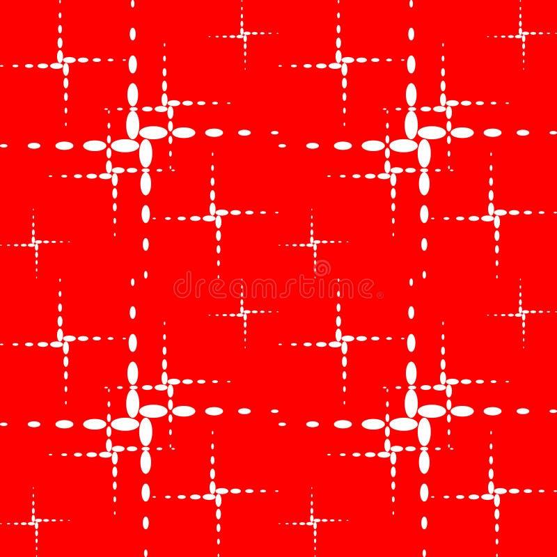 El modelo de las cruces ilustración del vector