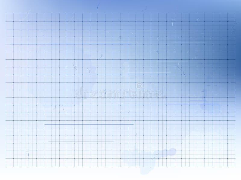 El modelo - fondo del vector con rejillas, rasguña y borra libre illustration