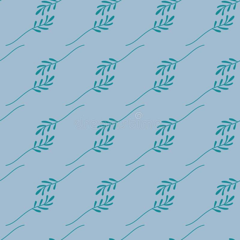 El modelo incons?til del verde se va en un fondo azul El fichero libre illustration