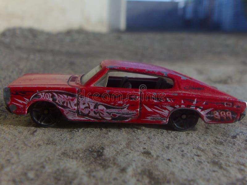 El modelo rojo del regate 2012 fotografía de archivo