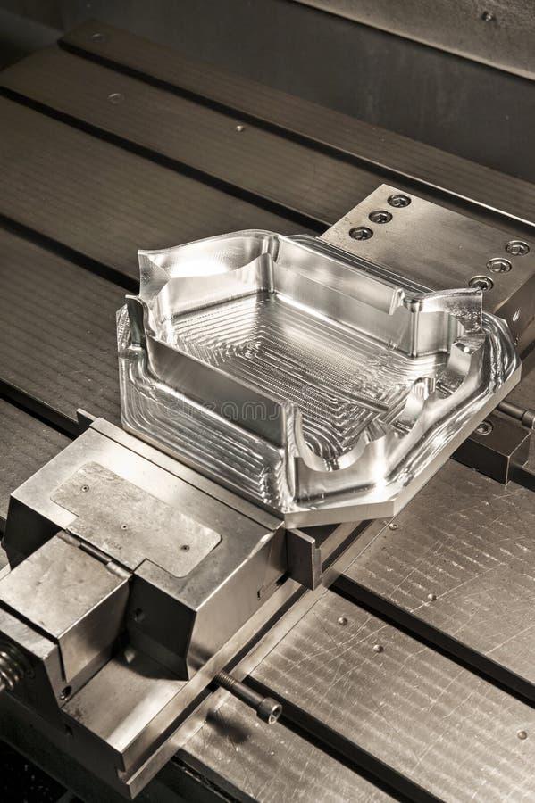 El molde de metal industrial del CNC muere. Metalúrgico. imágenes de archivo libres de regalías