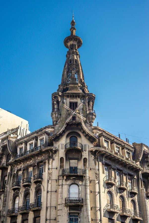 El Molino building in Buenos Aires, Argentina. El Molino building in Buenos Aires near Congress Square, Argentina stock images
