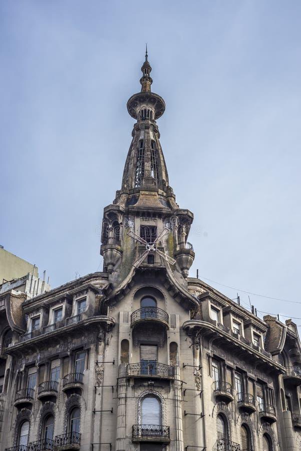 El Molino building in Buenos Aires, Argentina. El Molino building in Buenos Aires near Congress Square, Argentina stock image