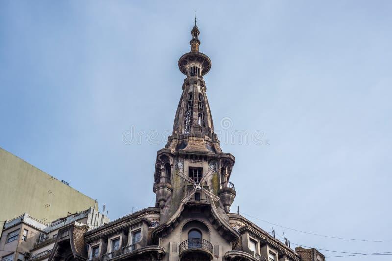 El Molino building in Buenos Aires, Argentina. El Molino building in Buenos Aires near Congress Square, Argentina royalty free stock photography