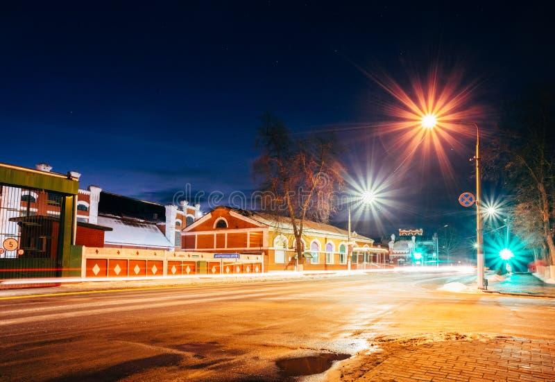 El molino de papel viejo en Dobrush, Bielorrusia fotos de archivo