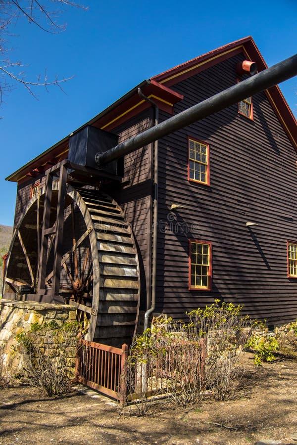 El molino de Tingler, banco de la pintura, Virginia imágenes de archivo libres de regalías