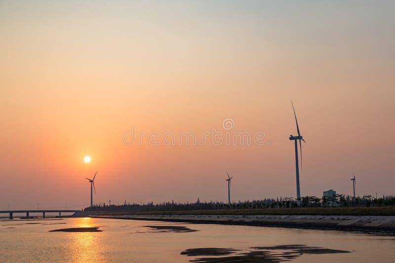 El molino de viento fotografía de archivo