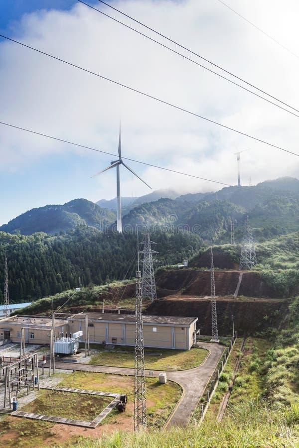 El molino de viento fotos de archivo libres de regalías