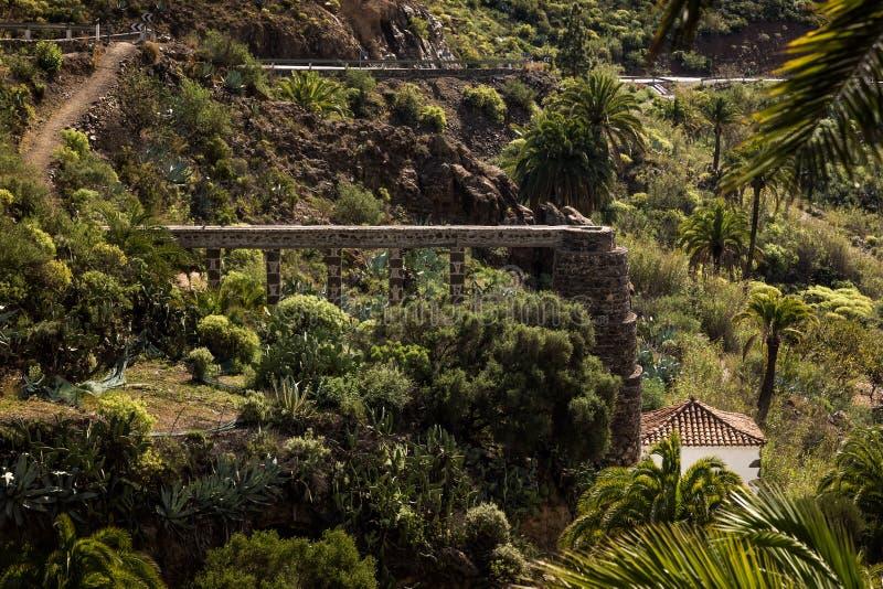 El Molino. Photograph taken from Mirador del Molino, Fataga, Gran Canary, Spain stock images