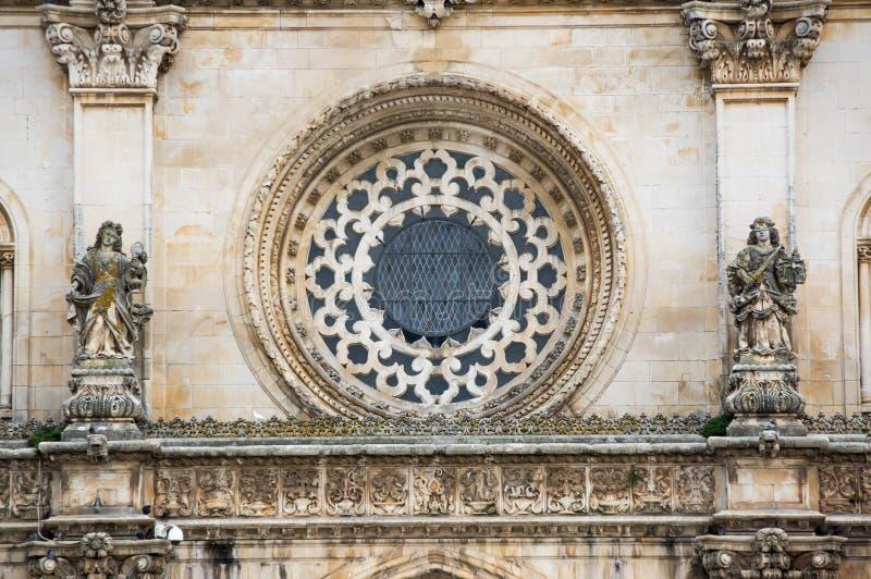 El monasterio de Alcobaca fotos de archivo libres de regalías