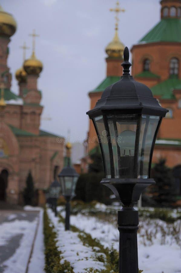 El monasterio de Goloseevsky foto de archivo libre de regalías