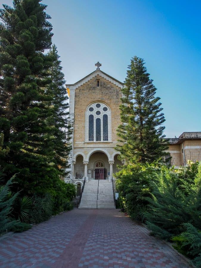 El monasterio de Latrun en Israel fotografía de archivo libre de regalías