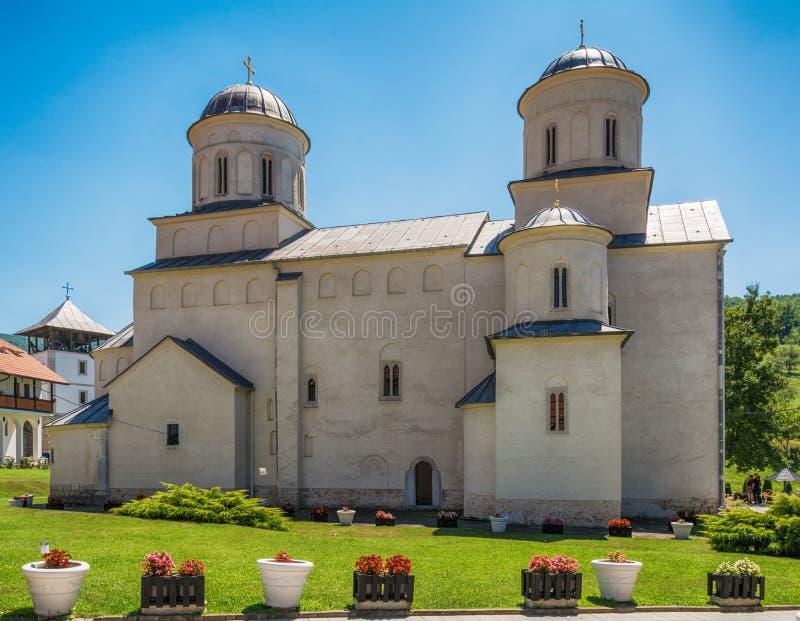 El monasterio de Mileseva fotografía de archivo libre de regalías
