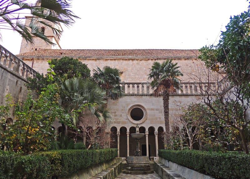 El monasterio franciscano foto de archivo
