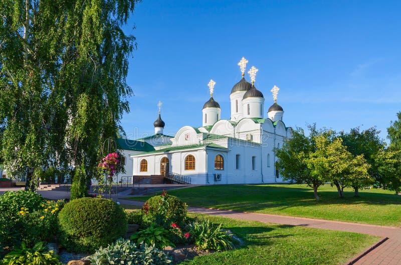 El monasterio masculino de la transfiguración santa, Murom, Rusia imagenes de archivo