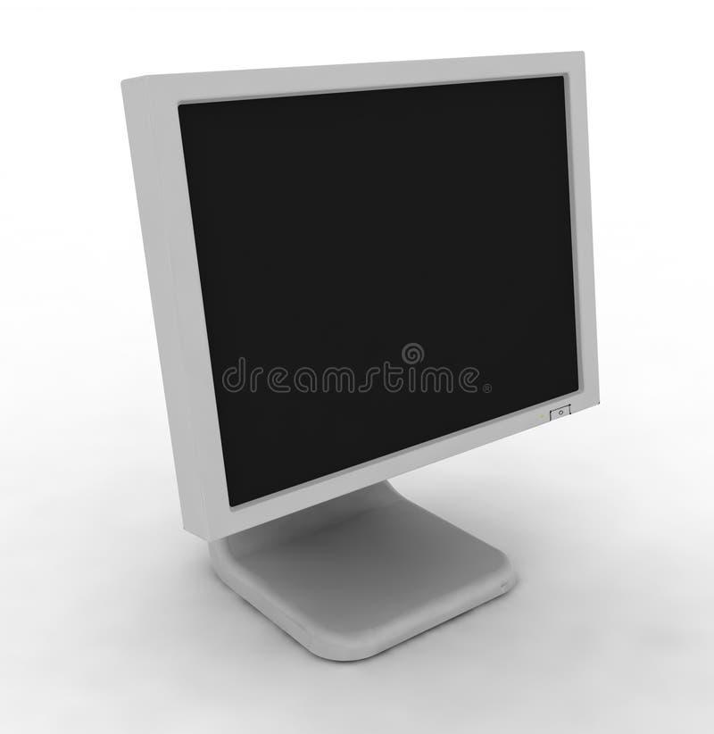 El monitor del ordenador fotografía de archivo