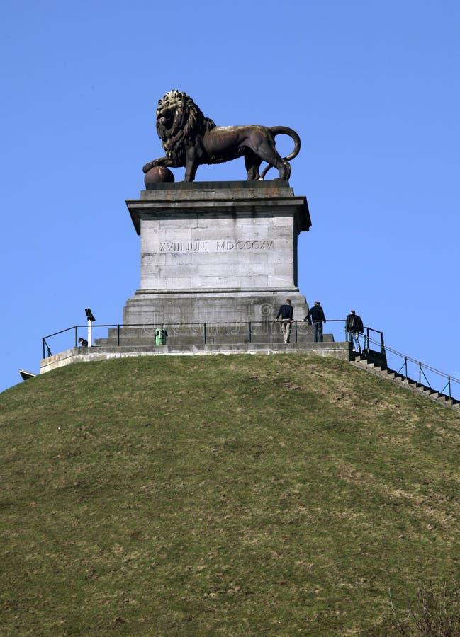 El montón del león, Waterloo, Brabante valón, Bélgica fotos de archivo libres de regalías