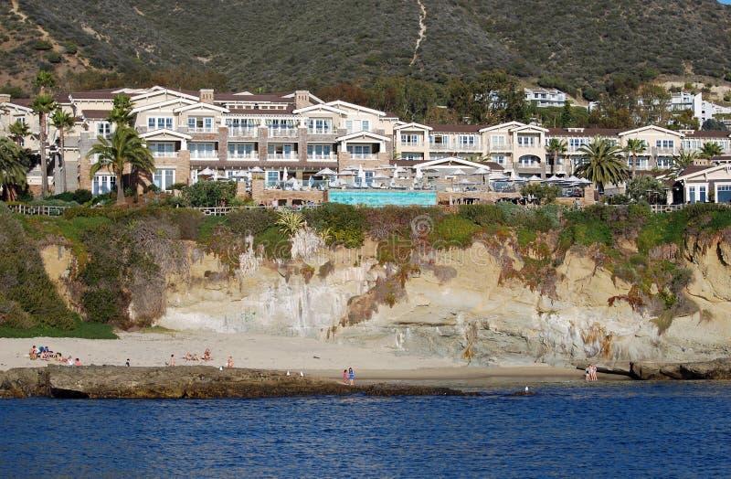 El montaje en Laguna Beach, California imagen de archivo