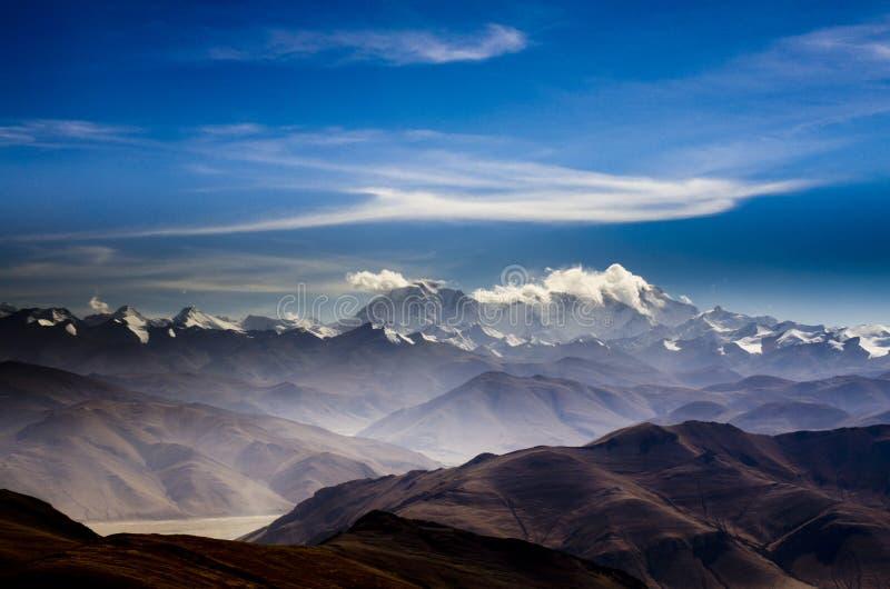 El monte Everest imagen de archivo