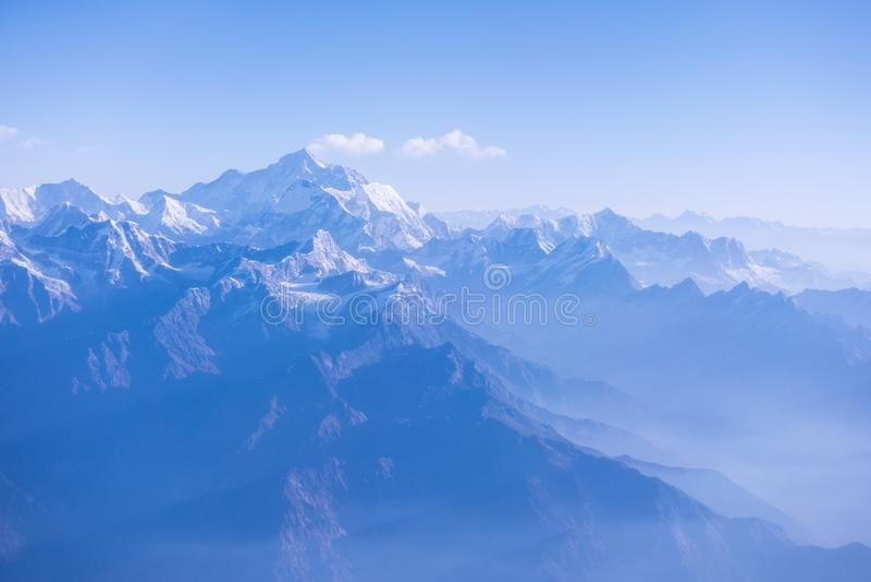 El monte Everest Nepal imagen de archivo