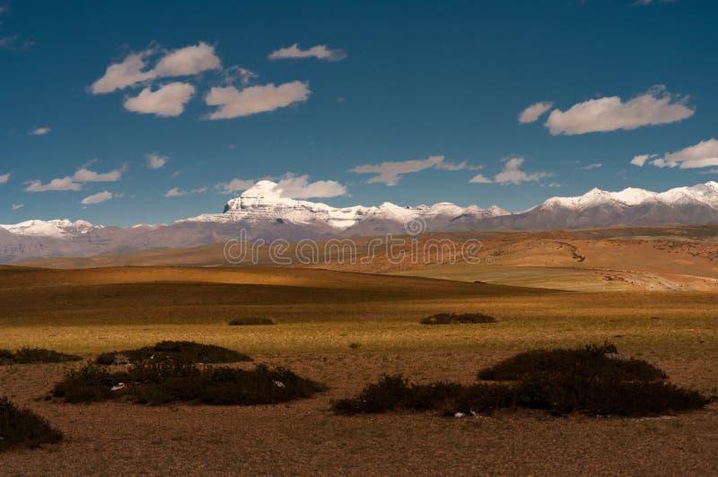 El monte Kailash imagenes de archivo