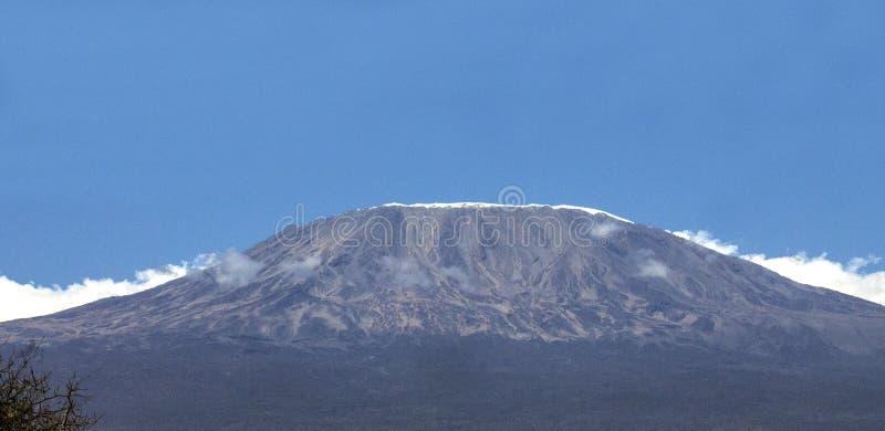 El monte Kilimanjaro, la montaña más alta de África fotos de archivo libres de regalías
