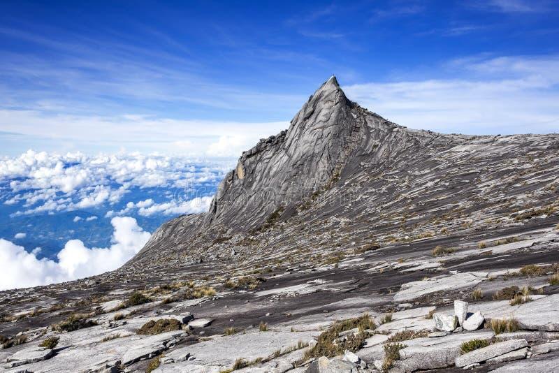 El Monte Kinabalu, Sabah, Borneo, Malasia imagenes de archivo