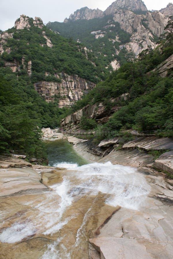 el Monte Kumgang fotografía de archivo libre de regalías