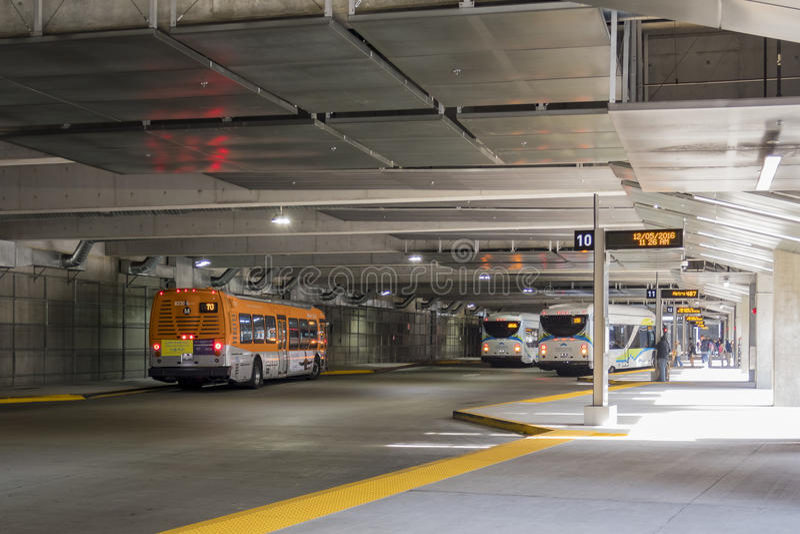 EL Monte Metro Station photos libres de droits