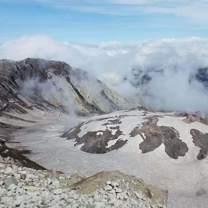 El Monte Saint Helens imágenes de archivo libres de regalías